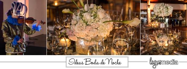 boda de noche, boda tradicional, ideas para bodas