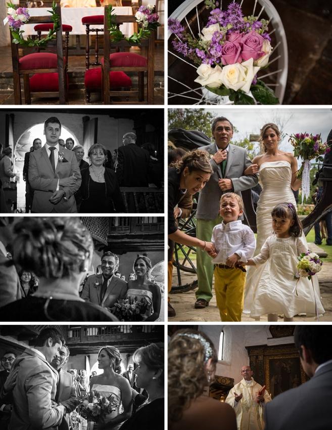 boda en el portico matrimonio