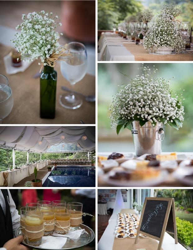 fotografia bodas, bogota, fotografo matrimonio bogota, boda campestre, boda cachipay, boda en finca, decoración con gypsophillias