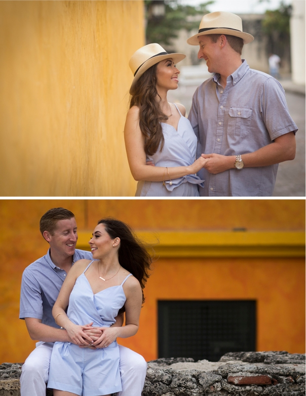 engagement session cartagena